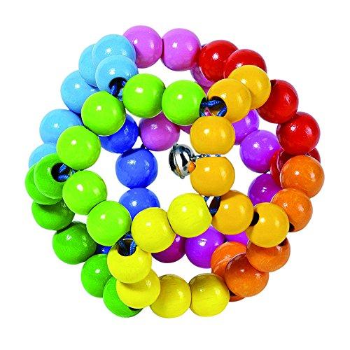Heimess 735670 Greifling Elastik Regenbogenball
