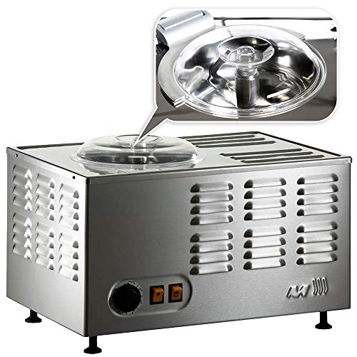 Musso Pola Stella Model Chef, Professionelle Eismaschine aus Edelstahl mit Sicherheitsvorrichtung, Made in...