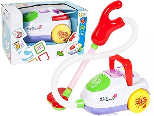 PREMIUM Kinderstaubsauger 'Cleaner' Spielzeug Staubsauger für Kinder - Soundeffekte - Saugfunktion -...
