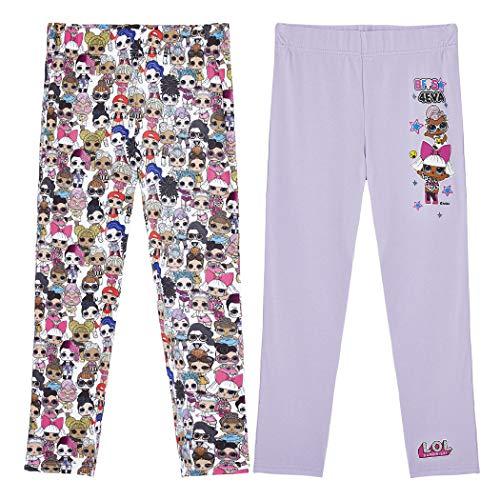 L.O.L. Surprise ! LOL Surprise Leggings für Mädchen | Sportswear Strumpfhose Hose Gamaschen für Kinder |...