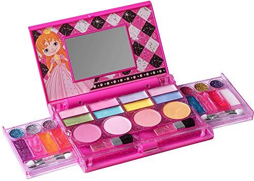 Playkidz MakeUp Chest Prinzessinnen-Schminktruhe, die All-in-One Deluxe-Kosmetik für Mädchen und echte...