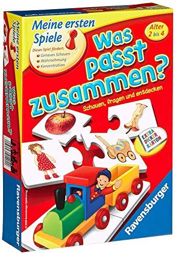Ravensburger 21402 - Was passt zusammen? - Puzzelspiel für Kinder, Bildpaare zuordnen für 1-4 Spieler ab 2...