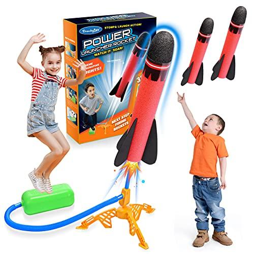 Let's Arezooo Rakete Spielzeug, Spielzeug ab 3-12 Jahre Junge Kinder Outdoor Spielzeug Spiele für Draussen...