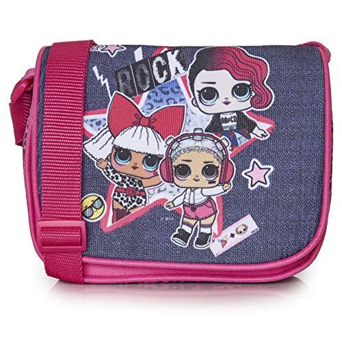 L.O.L. Surprise! Handtasche, Umhängetasche Für Mädchen Und Jugendliche, Schultertasche Mit LOL Puppen Diva,...