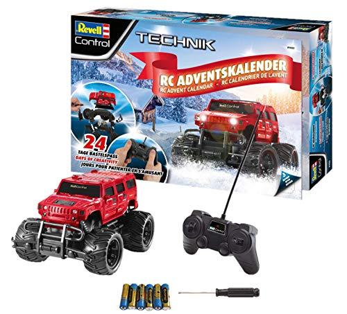 Revell Control 01022 Adventskalender RC Offroad-Truck, mit Fernsteuerung und Batterien in 24 Tagen zum...