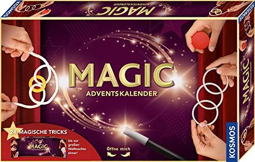 Kosmos MAGIC Zauber Adventskalender 2020, Spannende Zaubertricks, magische Zauber-Utensilien für die...