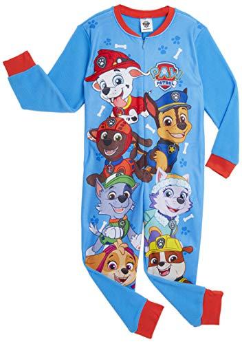Paw Patrol Onesie für Kinder, Skye, Chase und Marshall, Pyjama für Jungen und Mädchen, Kinder-Schlafanzug...