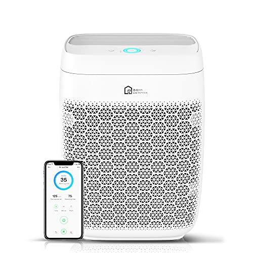 Luftreiniger, Zigma Luftreiniger Allergie für Raucherzimmer Wohnung bis zu 160m², CADR 330m³/h, Air...