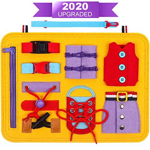 DigHealth Busy Board Montessori Spielzeug, Frühpädagogisches Lernspielzeug für Lernen Grundleben...