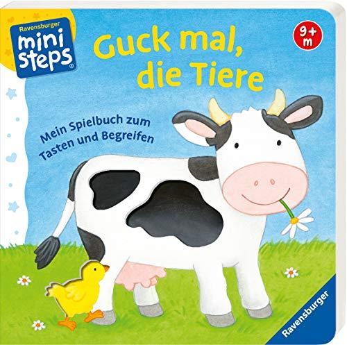 Guck mal, die Tiere: Mein Spielbuch zum Tasten und Begreifen. Ab 9 Monaten (ministeps Bücher)