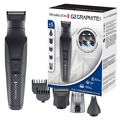 Remington Multi- Haarschneidemaschine G2 (inkl. 5 Aufsteckköpfe/-kämme, Akkubetrieb), Barttrimmer Herren,...