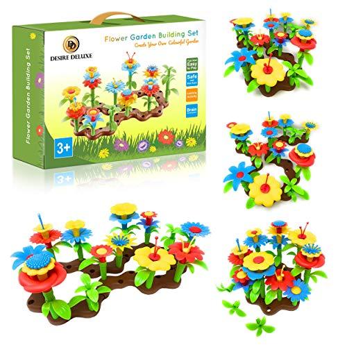 Desire Deluxe Blumengarten Spielzeug für Mädchen, DIY Bouquet Sets Geschenk für 3-6 Jährige Mädchen,...