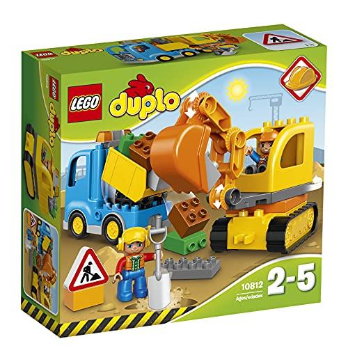 LEGO DUPLO 10812 - Bagger & Lastwagen   Kleinkind Spielzeug ab 2 Jahren