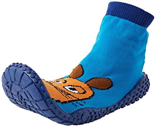 Playshoes DIE MAUS Aqua-Socke Badeschuhe DIE MAUS 174812, Jungen Aqua Schuhe, Blau (original 900), 24/25 EU