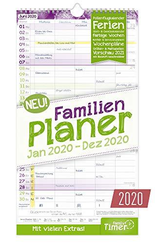 Familien Planer 2020