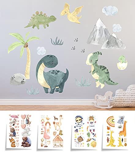 Hakuna Matte Wandtattoo für Kinderzimmer für Mädchen und Junge – Extra Großer Wandsticker 90x60 cm –...