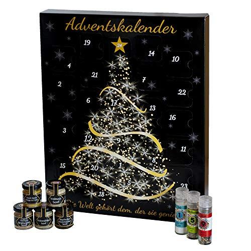 Feinkost Adventskalender für erwachsene Frauen und Männer, Weihnachtskalender mit hochwertigen Gewürzen,...