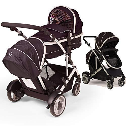 Kids Kargo: Doppelkinderwagen für Zwillinge
