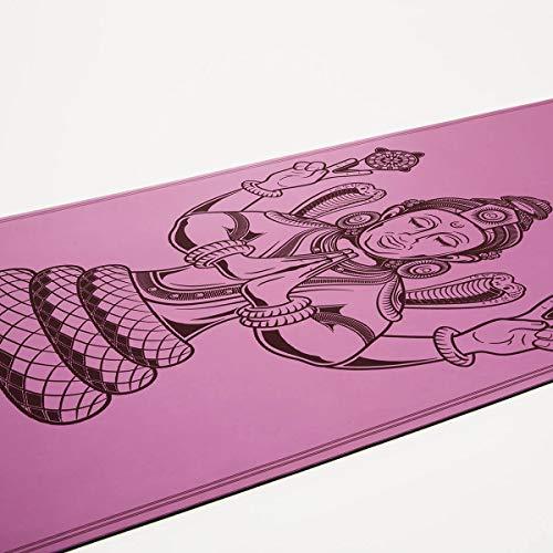 Yogamatte Patanjali - extrem rutschfest - ökologisch aus Naturkautschuk - Profi Yoga Matte ideal für...