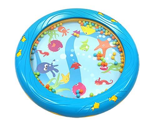 Musik für Kleine Meerestrommel Musikspielzeug für Kleinkinder und Babys ab 1 Jahr - 18 cm Durchmesser mit...