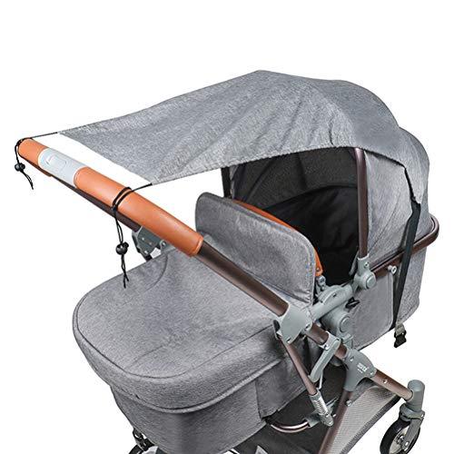 Sonnensegel für Kinderwagen Babywanne TBoonor flexibler Baby Sonnenschutz Kinderwagen mit UV Schutz 50+...