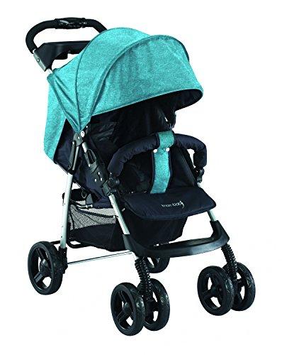knorr-baby 886602 Buggy'V-Easy-Fold' Melange, petrol
