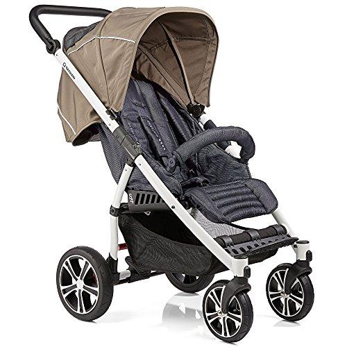 Gesslein S4 Buggy S4 Air+ Design 353 mit Liegefunktion, klein zusammenklappbar, für große Kinder bis 25 kg,...