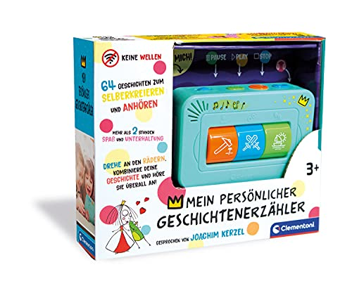Clementoni 59202 Geschichtenerzähler, interaktive Audio-Unterhaltung, für Kinder ab 3 Jahren, spannende Gute...