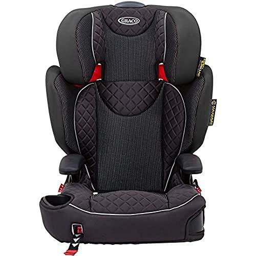 Graco Affix Kindersitz 15-36 kg, Autokindersitz ab 4 bis 12 Jahren, Gruppe 2/3, Konnektoren zur Fixierung am...