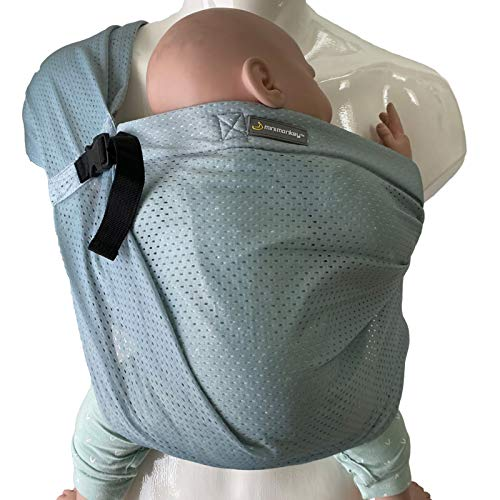 minimonkey Mini Sling | kleinste & leichteste Babytrage der Welt | Neugeborene bis max. 15 kg |wasserfest |...