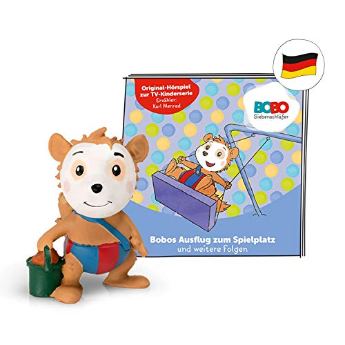 tonies Hörfiguren für Toniebox: BOBO SIEBENSCHLÄFER Bobos Ausflug zum Spielplatz + 6 weitere Folgen - ca 40...