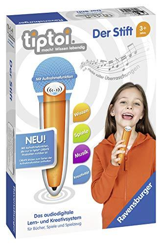Ravensburger tiptoi Stift 00801 - Das audiodigitale Lern- und Kreativsystem, Lernspielzeug für Kinder ab 3...