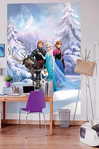 Komar Fototapete   Disney   FROZEN WINTER LAND   184 x 254 cm   Tapete, Wand, Dekoration, Wandbelag, Wandbild,...