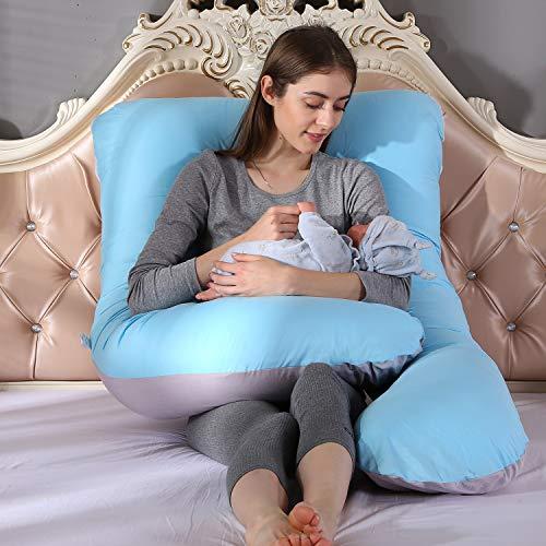 Grandma Shark 100% Baumwolle U Body Case nur Schwangerschaft Mutterschaft Körper zurück Unterstützung...