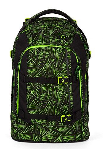 Satch Schulrucksack-Set 2-TLG Pack Green Bermuda Grün