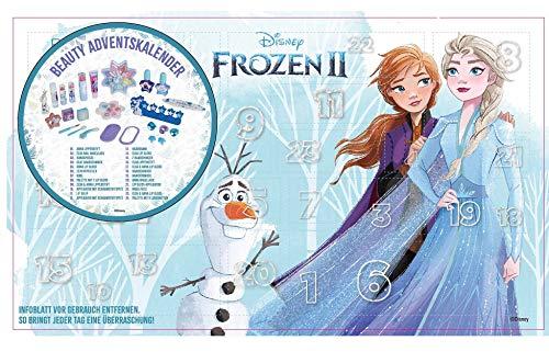 Disney Frozen II 1580300E Beauty Adventskalender 2020 mit 24 besonderen Accessoires- und Kinderkosmetik-...