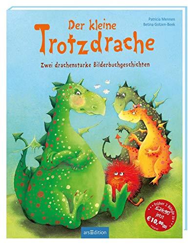 Der kleine Trotzdrache: Zwei drachenstarke Bilderbuchgeschichten | Bilderbuch über Trotz und Angst, für...
