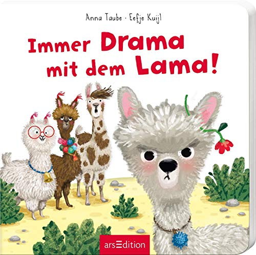 Immer Drama mit dem Lama: Lustiger Vorlesespaß für kleine Trotzköpfe ab 24 Monaten