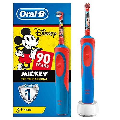 Oral-B Kids Disney Mickey Maus Elektrische Zahnbürste, für Kinder ab 3 Jahren