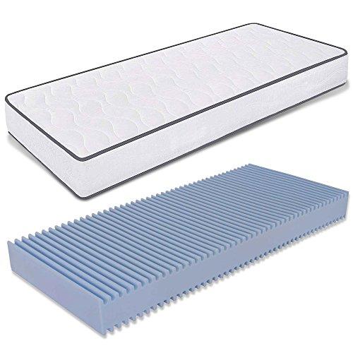 Ailime Einzelbett-Matratze aus Water Foam, Größe 80x 180cm, Höhe 14cm, orthopädisch, mit...