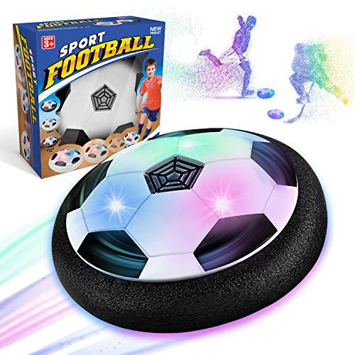 WEARXI Fussball Geschenke Jungen 5 6 10 Jahre - Hover Ball Spielzeug Ab 5-10 Jahre Junge mit LED-Licht, Air...