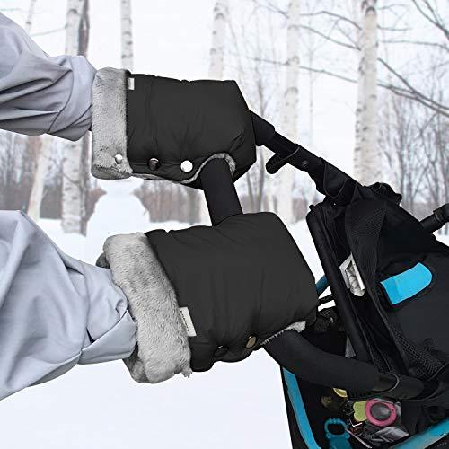 Handwärmer Kinderwagen - Warme Kinderwagen Handschuhe mit Fleece Innenseite, Wasserdicht und Winddicht Hand...