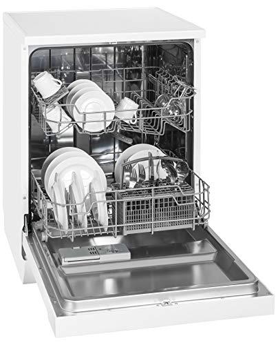 Exquisit Geschirrspüler GSP 9112.1 | Standgerät, Unterbaugerät | 12 Maßgedecke | Weiß