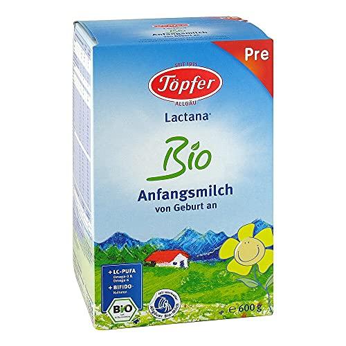 TÖPFER Lactana Bio Pre Pulver 600 g