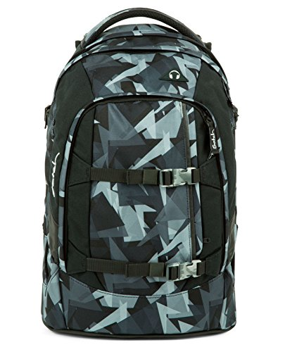 Satch Pack Gravity Grey Schulrucksack Set 2tlg.