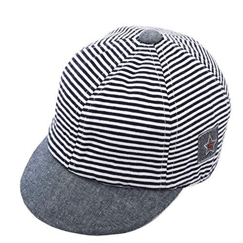 Foruhoo Basecap Baby Mädchen Verstellbar - Schildmütze für Kinder Kappe Trucker Hut Sonnenhut (Grau,44)