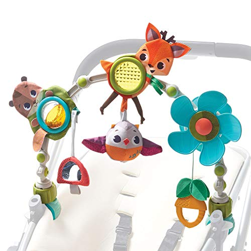 Tiny Love Spielbogen Musical Nature Stroll, Into the Forest, mit Rasselspielzeug, nutzbar ab der Geburt (0M+),...