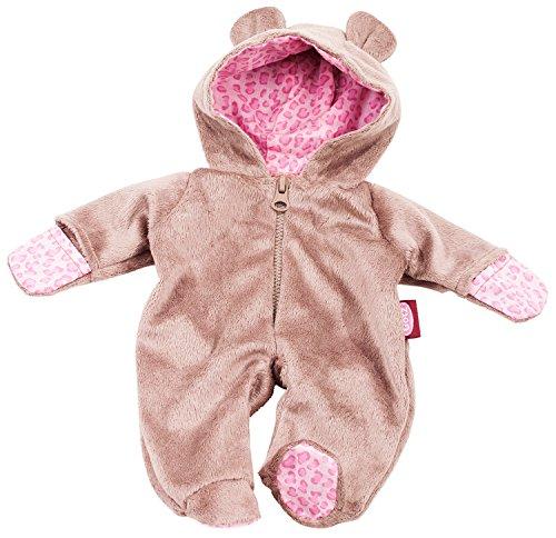 Götz 3402668 Onesie Teddy - Einteiliger Overall Puppenbekleidung Gr. S - 1-teiliges Bekleidungs- und...