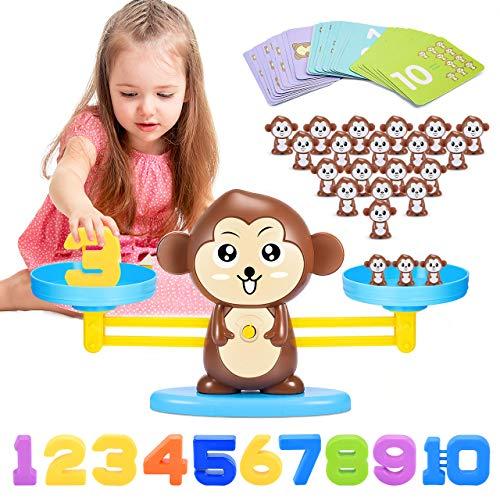 ATOPDREAM Kinderspiele ab 3-7 Jahren, Montessori Spielzeug ab 3-7 Jahre Geschenke für Kinder 3-7 Jahre...