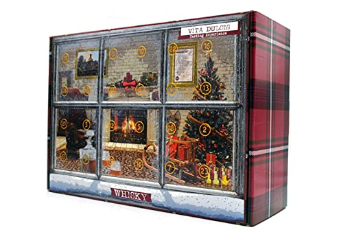 Whisky Adventskalender Klassik Edition 2021 - Vita Dulcis - 24x0,02l